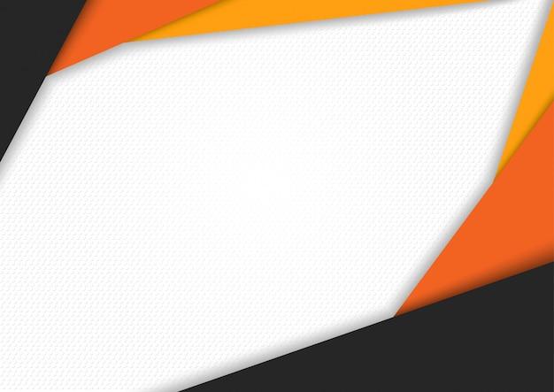 Abstrato moderno de três listras coloridas