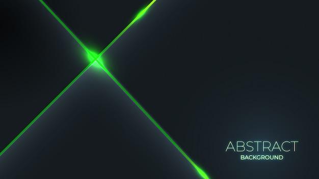 Abstrato moderno elegante luz verde