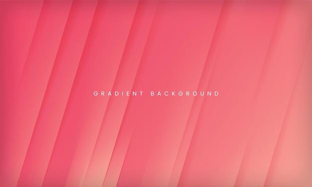 Abstrato moderno gradiente rosa pêssego fundo design de modelo geométrico mínimo