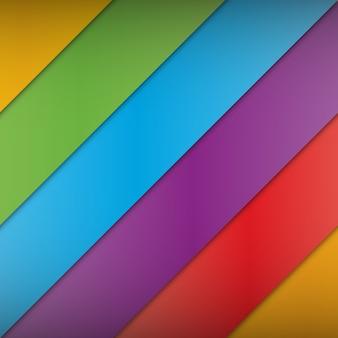 Abstrato multicolorido