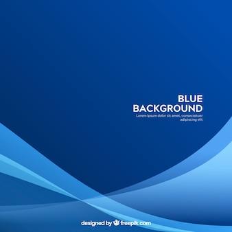 Abstrato na cor azul