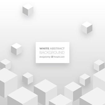 Abstrato na cor branca