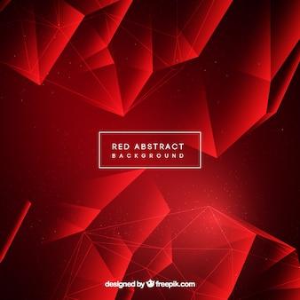 Abstrato na cor vermelha