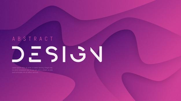 Abstrato ondulado, design futurista minimalista moderno com textura de ruído. amostras globais.