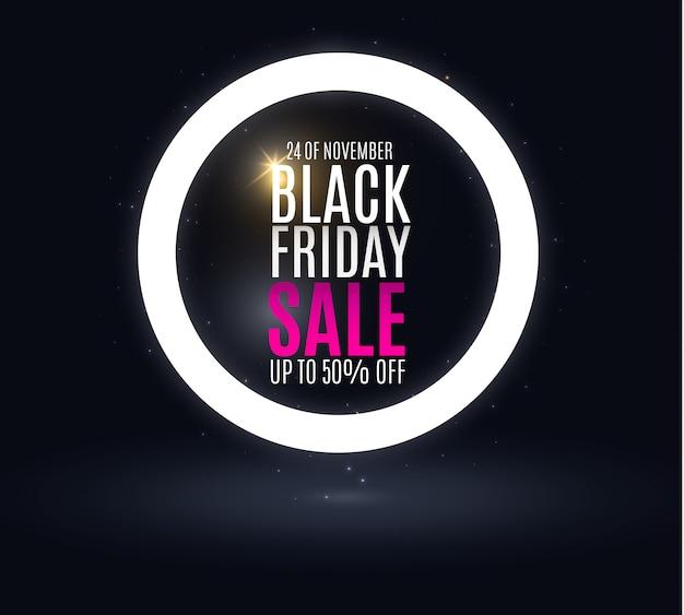 Abstrato preto venda sexta-feira. banners. sexta-feira negra linda. vendas de publicidade nas lojas