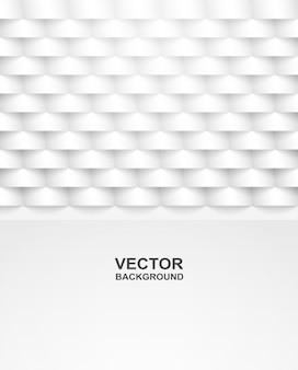 Abstrato. quadrado branco forma fundo geométrico.