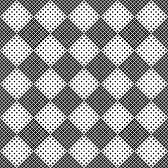 Abstrato quadrado padrão de fundo - monocromático