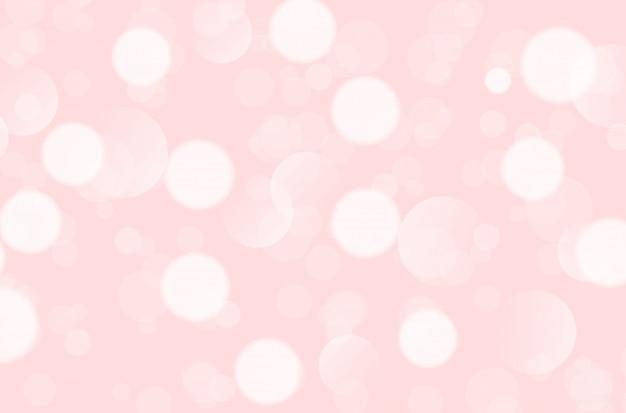 Abstrato rosa com bokeh.