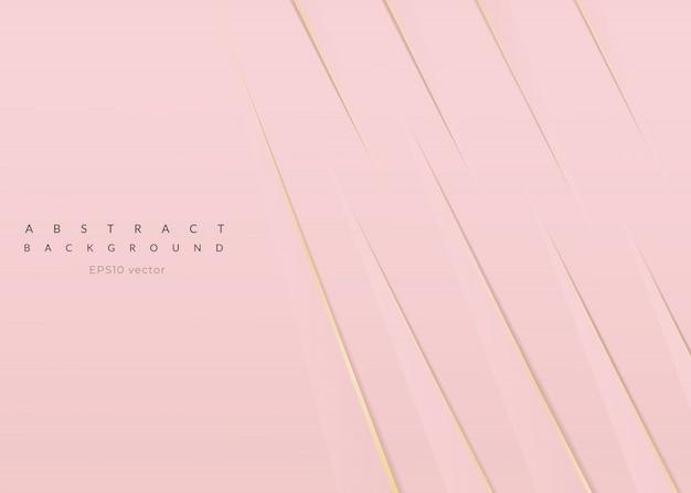 Abstrato rosa ouro