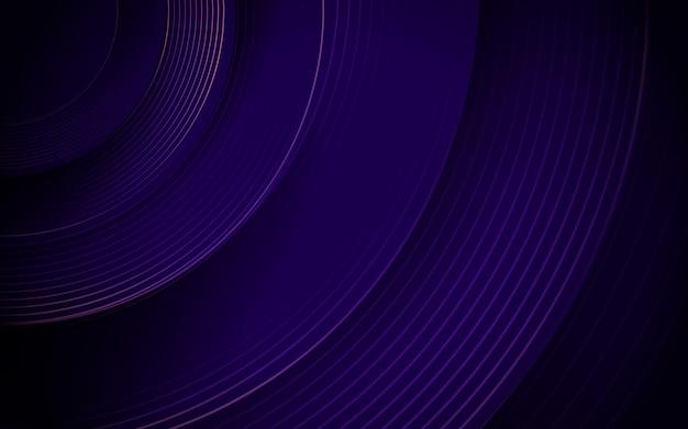Abstrato roxo círculo linha listras. fundo futurista de alta tecnologia