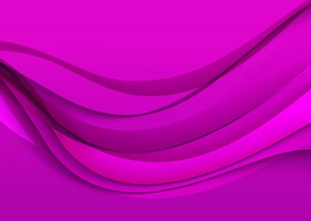 Abstrato roxo elegante. ilustração vetorial