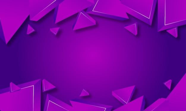 Abstrato roxo triângulo