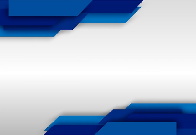 Abstrato. sobreposição de azul branco forma fundo. .
