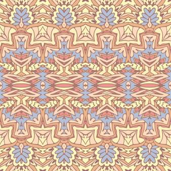 Abstrato tribal vintage étnico padrão sem emenda ornamental. raro fundo de arte geomérica.