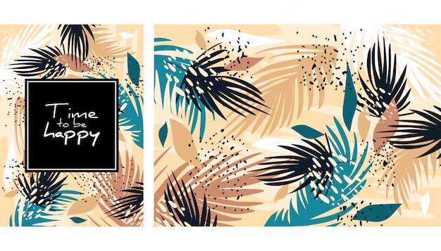 Abstrato tropical