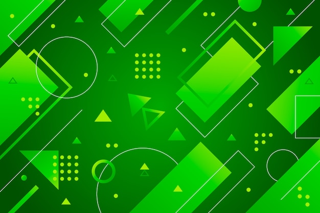 Abstrato verde geométrico