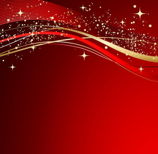 Abstrato vermelho de natal.