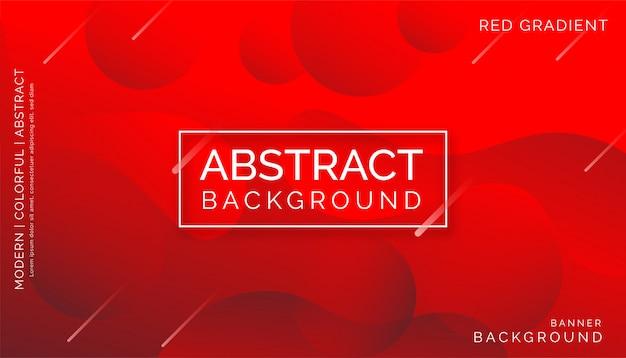 Abstrato vermelho, design dinâmico colorido moderno