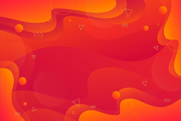 Abstrato vermelho