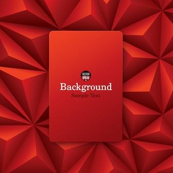 Abstrato vermelho.
