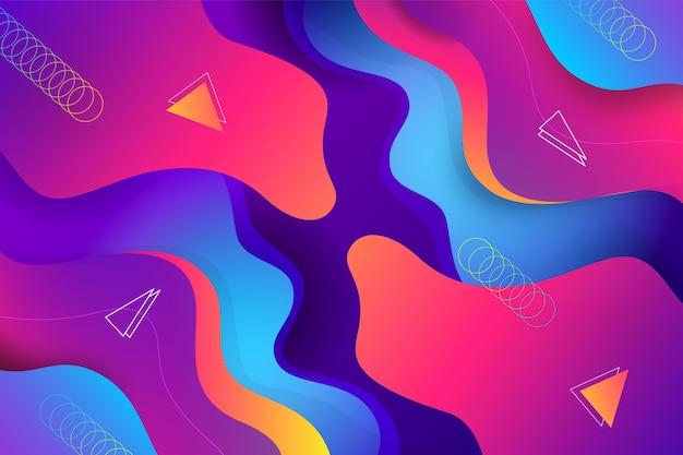 Abstrato vibrante
