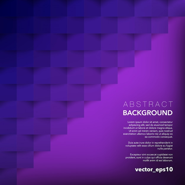 Abstrato. violeta fundo geométrico.