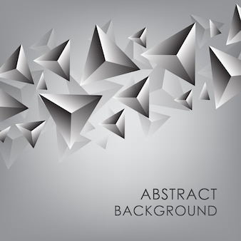 Abstratos, 3d, triangulo, fundo
