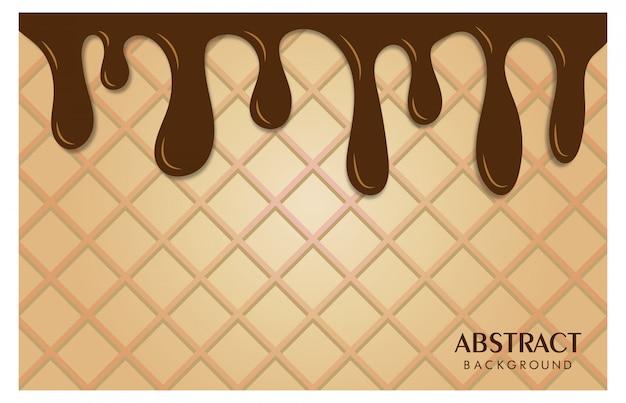 Abstratos, fundo, textura, sorvete, alimento bebida
