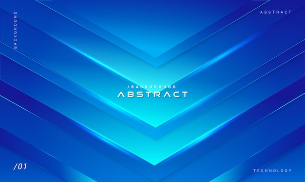 Abstratos tecnologia azul forma geométrica fundo