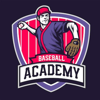 Academia de design de crachás de beisebol