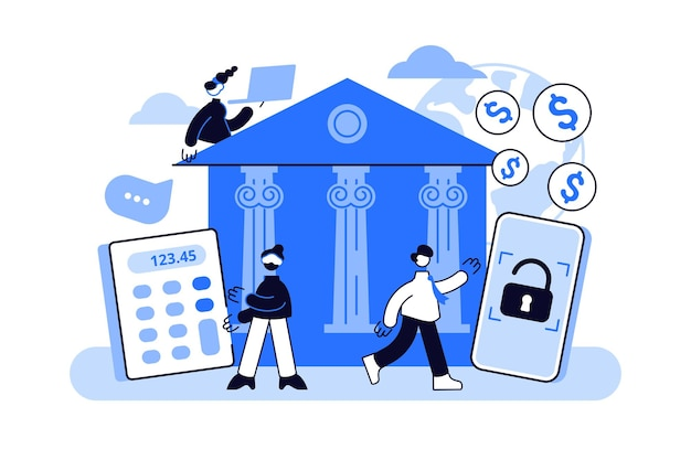 Acesso a operações bancárias via internet.