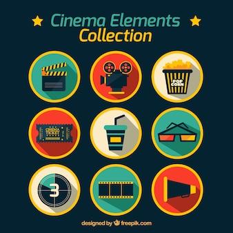 Acessórios de cinema planas