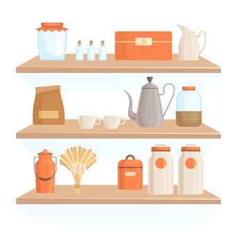 Acessórios de cozinha para decorar uma cozinha