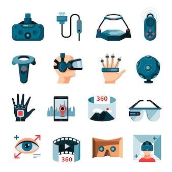 Acessórios de realidade aumentada virtual