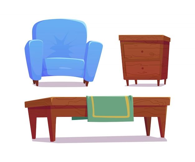 Acessórios interiores e domésticos de móveis