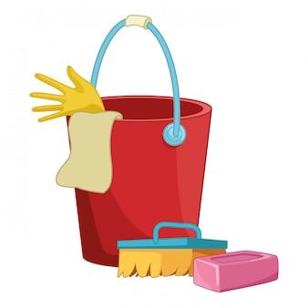 Acessórios para equipamentos de limpeza e higiene