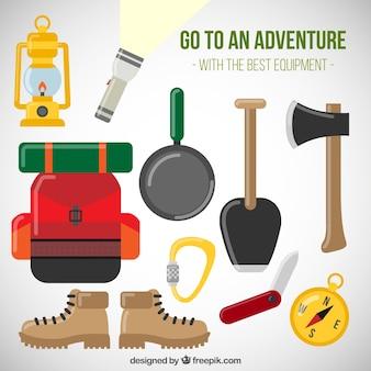 Acessórios planas para a aventura