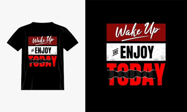 Acorde e aproveite o design da camiseta hoje