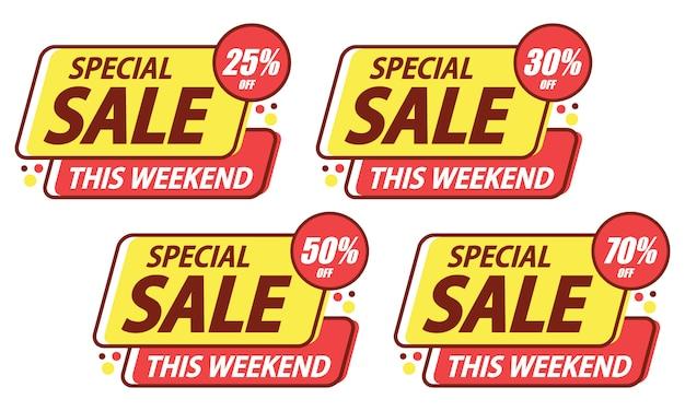 Adesivo de modelo de venda especial