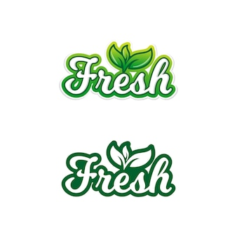 Adesivos de comida fresca