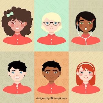 Adolescentes ilustradas