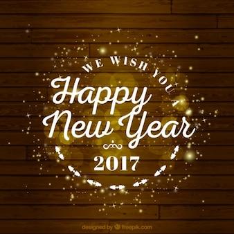 Adorável novo fundo feliz ano
