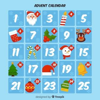 Advento do calendário