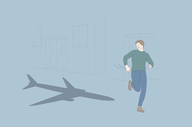 Aerofobia e conceito de problema psicológico