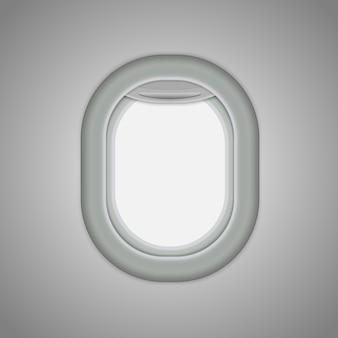 Aeronaves, janelas de avião.