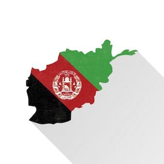 Afeganistão mapa