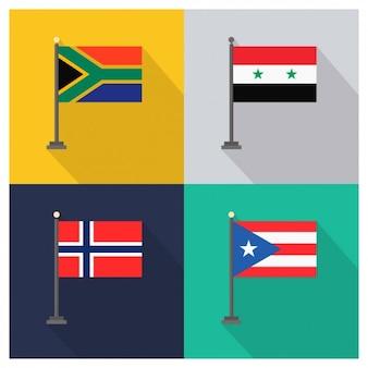 África do sul siria noruega porto rico