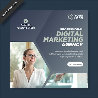 Agência de marketing digital instagram post