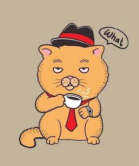 Agente de grito de gatos