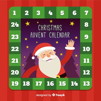 Agitando o calendário de santa